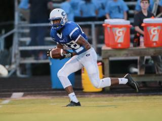 Football: Corinth Holders vs. Clayton (Aug. 26, 2016)