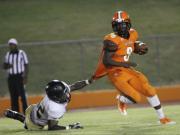 Football: Orange vs. Western Guilford (Sept. 16, 2016)