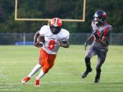 Football: Orange vs. Southern Durham (Sept. 23, 2016)