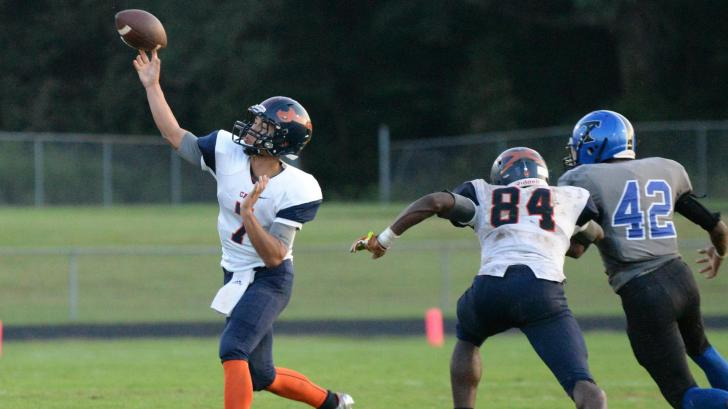 Football: Southern Lee vs Triton (Oct. 1, 2016)