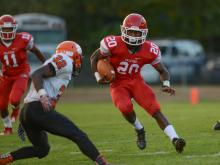 Football: South View vs. Seventy-First (Oct. 1, 2016)