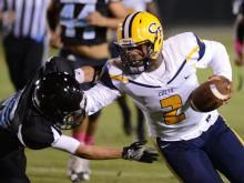 Football: Cape Fear vs. Overhills (Oct. 1, 2016)