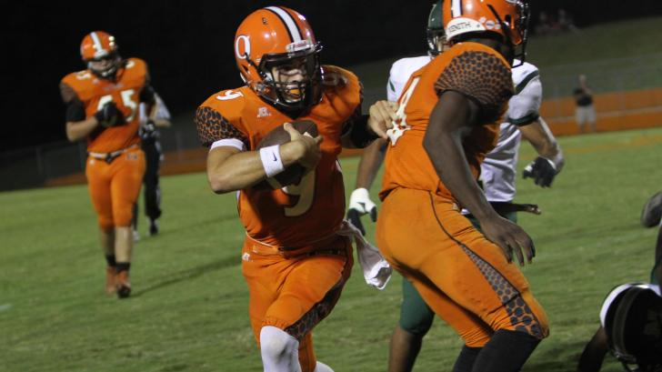 Football: Orange vs. Northwood (Oct. 3, 2016)