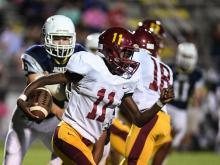 Lee County pitched a shutout on Monday night with a 42-0 win over Douglas Byrd.