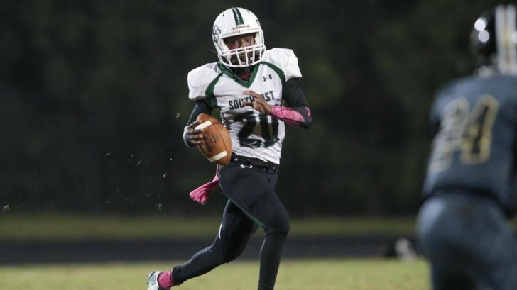 Football: Southeast Raleigh vs. Knightdale (Oct. 6, 2016)