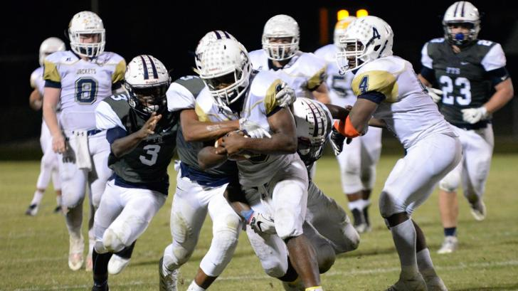 Football: Lee County vs Terry Sanford (Oct. 6, 2016)