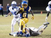 Football: Garner vs. Clayton (Oct. 13, 2016)