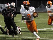 Football: Orange vs. Cedar Ridge (Oct. 14, 2016)