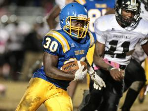 Football: Garner vs. Knightdale (Oct. 21, 2016)