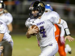 Football: Holly Springs vs. Athens Drive (Oct 21,  2016)