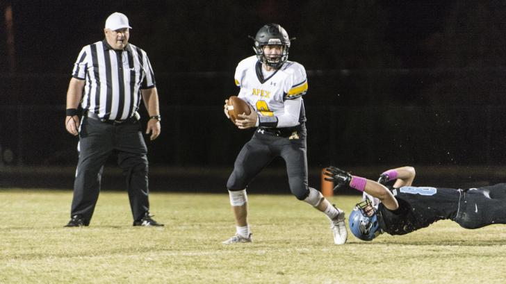 Football: Apex vs. Panther Creek (Oct. 21, 2016)