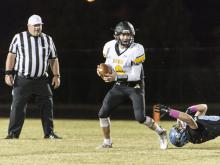 Football: Apex vs. Panther Creek (Oct. 21, 2016)