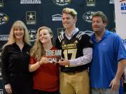 Clayton's Mitch Hall gets visit from U.S. Army All-American Bowl tour