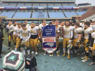 Murphy wins 2016 1A football state championship