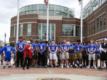 Cougar Walk of Champions, Wake Forest North Carolina - March 25,