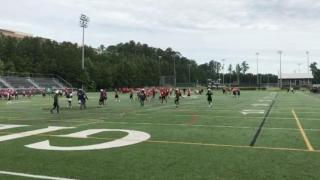 Timelapse of Cardinal Gibbons 7-on-7 competition