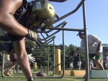 Cardinal Gibbons opens football practice