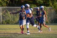 Hillside's first football practice (July 31, 2017)