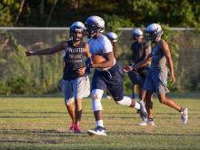 Hillside first football practice (July 31, 2017)