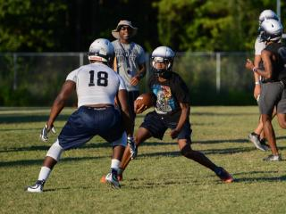 Hillside first football practice (July 31, 2017)
