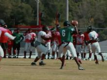 Southern Durham football practice