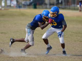 Garner Football Practice (Aug. 5, 2017)
