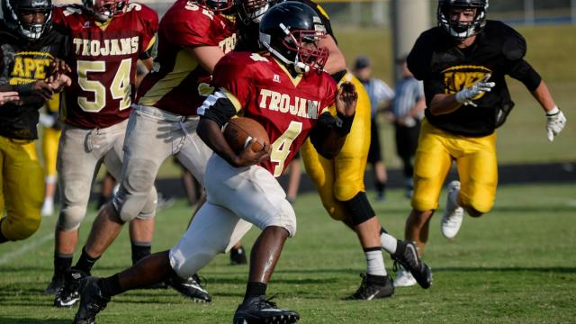 Football: Harnett County Jamboree (Aug. 10, 2017)