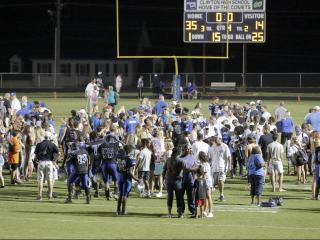 Boys Football: Garner vs Clayton, August 18, 2017