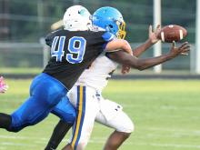 Boys Football: Garner vs Clayton, August 18, 2017