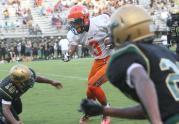 Football: Orange vs. Northern Nash (Aug. 18, 2017)