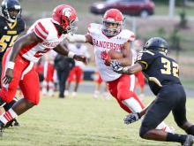 Football: Sanderson vs. Apex (Aug 31,  2017)