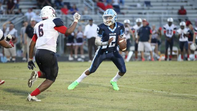 Football: Terry Sanford vs. Cleveland (Sep. 2, 2017)