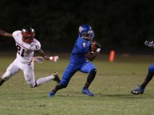 Football: Middle Creek vs. Wake Forest (Sept. 4, 2017)