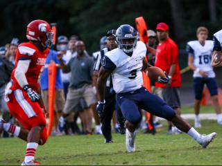 Football: Heritage vs. Sanderson (Sept. 8, 2017)