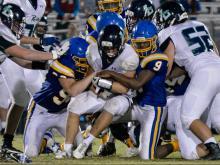 Football: Leesville Road vs Garner (Sept. 15, 2017)