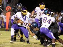 Football: Tarboro vs Southwest Edgecombe, September 15, 2017