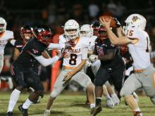 Football: Fuquay-Varina vs Middle Creek (Oct. 6, 2017)