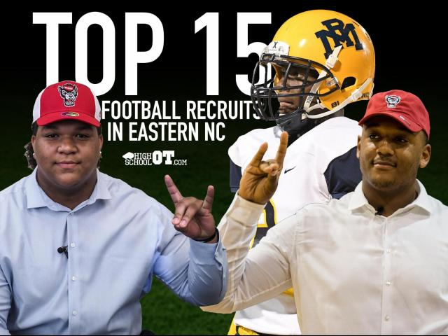 Top 15 Senior Football Prospects In Eastern Nc