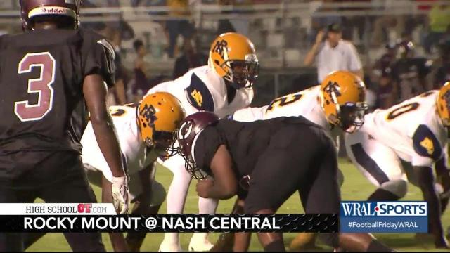 Highlights: Rocky Mount takes out rival Nash Central
