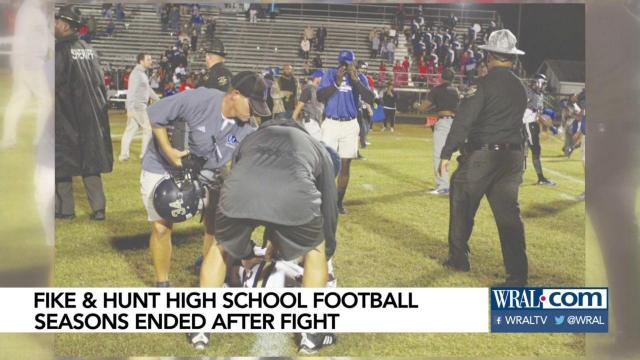 Fike Hunt Football Seasons Ended After Fight