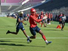 Football: NC State 7-on-7 Competition (June 14, 2019)