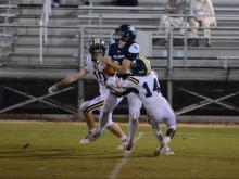 Football: North Raleigh Christian vs. Wake Christian (Oct. 23, 2020)
