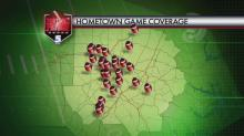 Football Friday coverage map Aug. 30, 2013