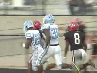 Cleveland took out Rolesville, 58-31 Friday night in the battle of the Rams.