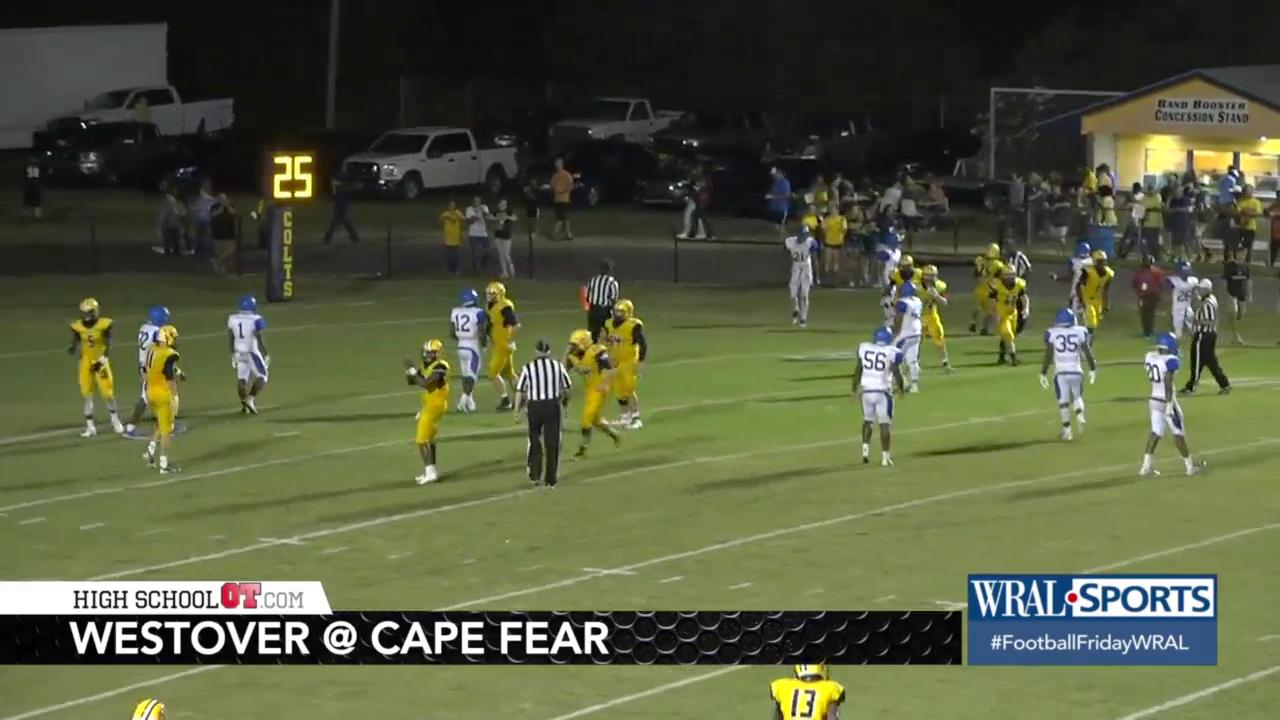 Cape Fear holds off Westover, 25-20
