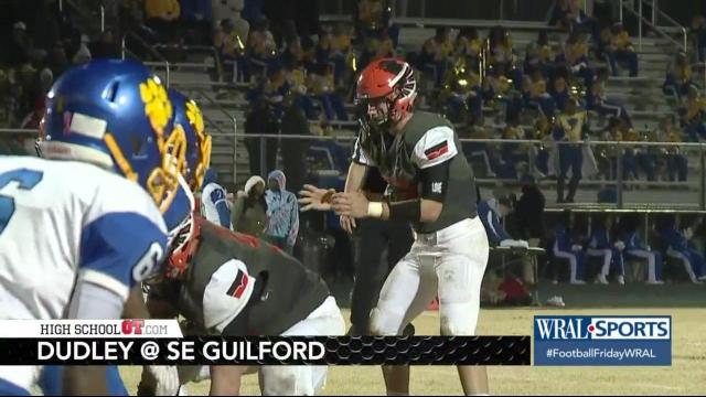 Highlights Southeast Guilford Downs Dudley In Close Affair 21 18