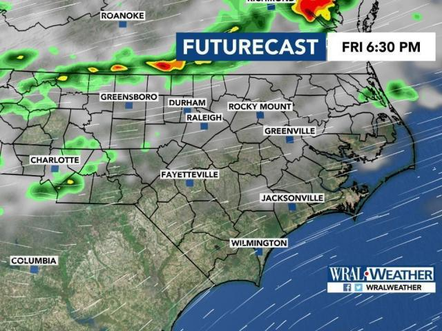 Futurecast: Rain, storms for first Football Friday of 2019?