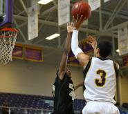 Apex overcame a slow start to roll past Clinton, 56-34, in an elimination game of the Shavlik Randolph Foundation bracket of the 2012 HighSchoolOT.com Holiday Invitational.
