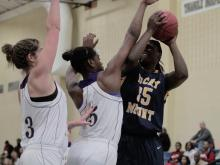 Images from Holly Springs' 48-41 victory over Rocky Mount in the 5th place game of the Mix 101.5 Girls Bracket at the 2012 HighSchoolOT.com Holiday Invitational.