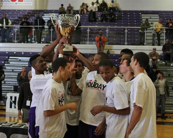 Word of God 2012 Holiday Invitational Champions. WRAL HighSchoolOT.Com Invitational Basketball Tournament, 12.29.12. Word of God Champions over New Hampton 58 to 53. Photo by CHRIS BAIRD